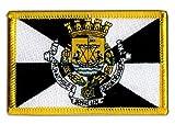 Aufnäher Patch Flagge Portugal Lissabon - 8 x 6 cm
