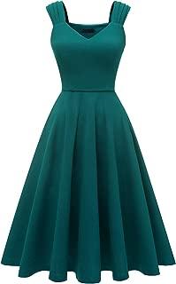 retro turquoise dress