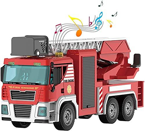 Giocattoli per bambini Camion dei pompieri Giocattoli smontabili Giocattoli da costruzione Giocattoli regalo per ragazzi Idea di veicoli da costruzione per ragazzi dai 4 anni in su