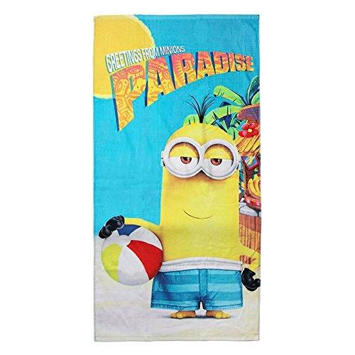 Made in Trade 2200002802 Minions Handtuch aus Baumwolle