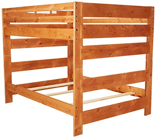 Wrangle Hill Full Over Full Bunk Bed Amber Wash