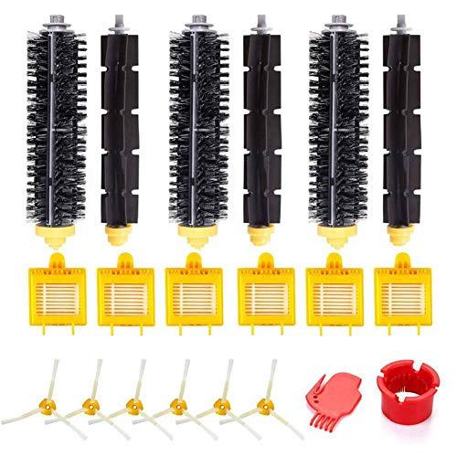 E-Qianw Kit De Piezas De Repuesto Compatible para Irobot Roomba 750 760 765 770 774 775 776 780 782 785 786 790 Piezas De Aspiradora