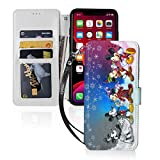 Mickey Mouse Cartoon Phone Case 11/11Pro/11Pro Max Flip Folio Leather Wallet Case with ID and Credit Card Pockets for 2020 Black Wallet Phone Case Pouch Sleeve