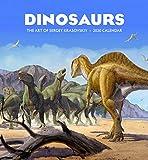 Dinosaurs: The Art of Sergey Krasovskiy 2020 Wall Calendar
