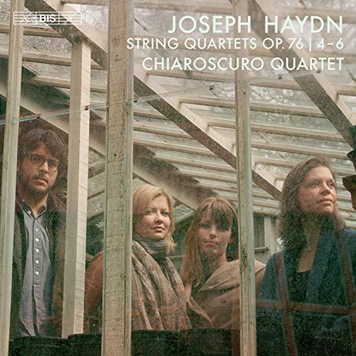 ハイドン : 弦楽四重奏曲第78-80番 / キアロスクーロ四重奏団 (Haydn : String Quartets Op.76 No.4-6 / Chiaroscuro Quartet) [SACD Hybrid] [Import] [日本語帯・解説付き]