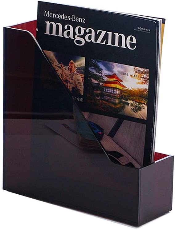 JHEY File Folder Magazine Holder De Memphis Mall Plastic Rack 2021 Organizer