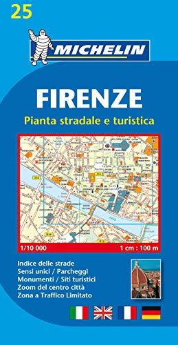 Michelin Firenze: Stadtplan 1:10.000 (MICHELIN Stadtpläne)