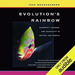 Evolution's Rainbow audiobook cover art