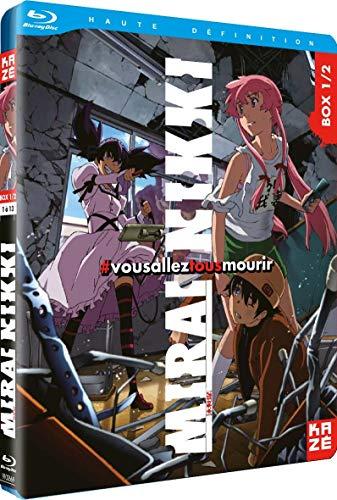 Mirai Nikki-The Future Diary-Box 1/2 [Blu-Ray]
