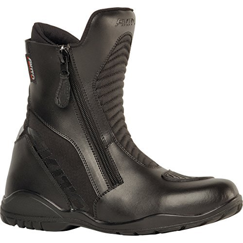 1840573600 - Akito Scout Motorcycle Boots 36 Black (UK 2)