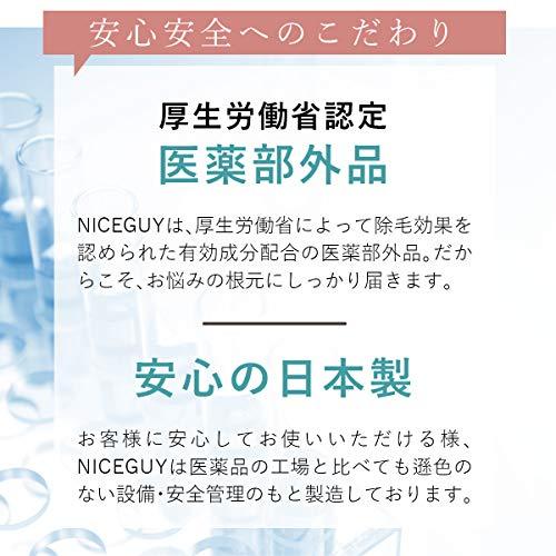 HOWWHY(ハウワイ)『ナイスガイ除毛クリーム』