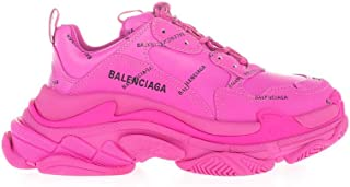 Luxury Fashion | Balenciaga Women 524039W2FA15210 Fuchsia Polyurethane Sneakers | Autumn-winter 20