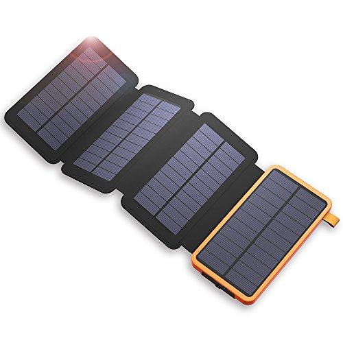 #4 X-Dragon 20000mAh con 5 Pannelli Solari