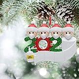 2020 Adornos de Navidad Personalizados para árbol de Navidad decoración del hogar...