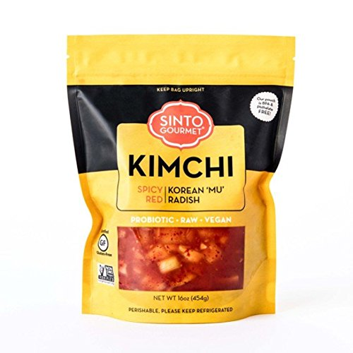 Sinto Gourmet Spicy Radish Kimchi (Pack of 2)