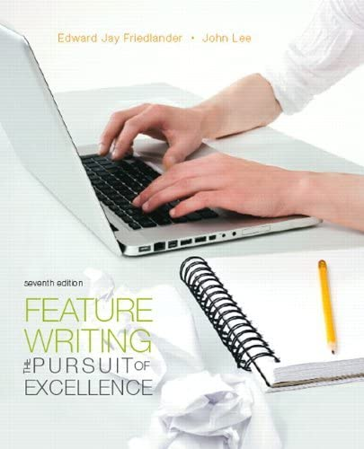 Feature Writing The Pursuit of Excellence Mysearchlab Series for Communication Author Friedlander product image
