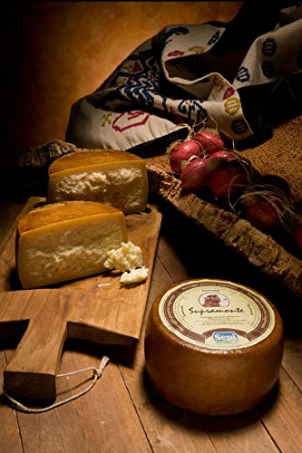 2.5 kg - Supramonte - Aged pecorino cheese, craftmade by Sepi Formaggi, in Marrubiu, Sardegna