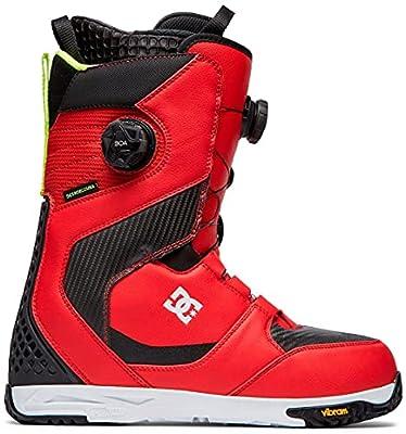 DC Shuksan BOA Snowboard Boots Mens Sz 12 Racing Red