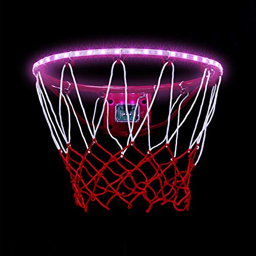 Best Review Of Coidak LED Basketball Hoop Lights, Lights Up Automatically After Sensing Basketball S...