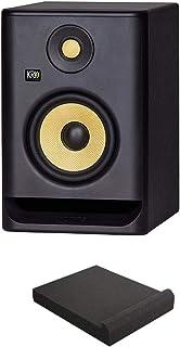 "KRK RP5 ROKIT 5 G4 Professional Bi-Amp 5"" Powered Studio Monitor with Free Isolation Pad Bundle"