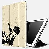 iPad 10.2 Pouces 7ème Génération 2019 A2197/A2198/A2200, Joueur de rugby en action Course à pied Succès au terrain de jeu de l'arène Sport ,Smart Cover Case Housse Étui de Protection avec Support