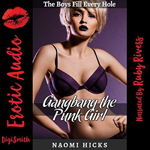 Gangbang the Punk Girl audiobook cover art