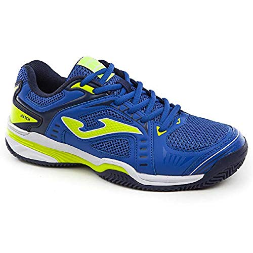 Joma T.Match Scarpe Tennis Uomo Clay - Men's Tennis Shoes (45, Blu)