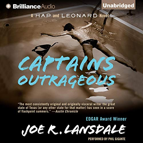 Captains Outrageous Audiobook By Joe R. Lansdale cover art