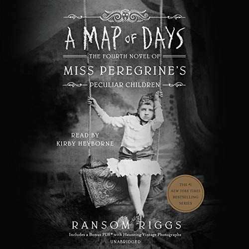A Map of Days Audiobook By Ransom Riggs cover art