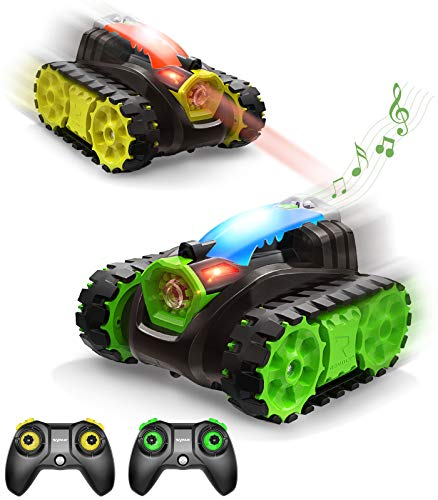 SYMA RC Panzer, ferngesteuertes Auto mit Schussfunktion, Sound & Licht, 2.4GHz, Auto ferngesteuert, Battletank, Outdoor und Indoor Fahrzeug Spielzeug für Jungen Kinder ab 8 Jahre