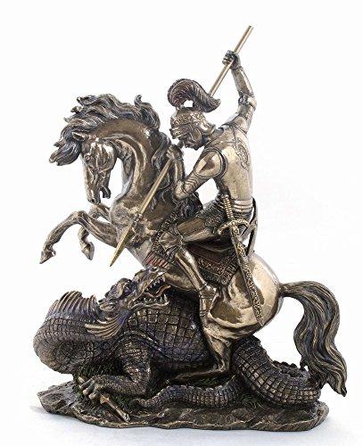 Anablep Grande ST George & Dragon statua su base