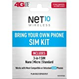 Net10 - Bring Your Own Phone 'GSM' 3-in-1 Sim Card Kit...