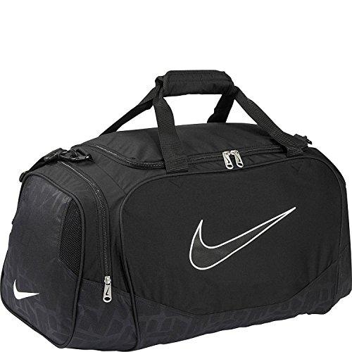Nike Brasilia Borsone Allenamento Sport Borsone Palestra Viaggio Borsa Small Nero