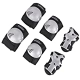 BOSONER Kids/Youth Knee Pad Elbow Pads Guards Protective Gear Set for Roller Skates Cycling BMX Bike Skateboard Inline Skatings Scooter Riding Sports, Wrist Guards Toddler for Multi-Sports Outdoor
