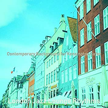 Contemporary Background for Kensington Cafes