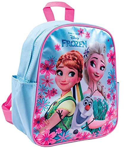 Disney Frozen Backpack Elsa Anna & Olaf Backpack Rucksack School Bag 28cm x 24cm