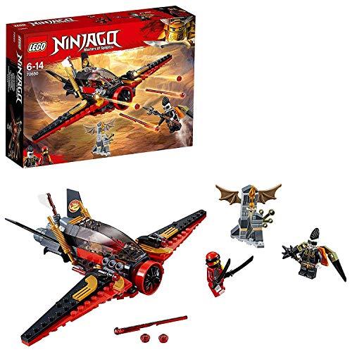 LEGO Ninjago - Caza del destino, Juguete de Construcción de Aventuras Ninja, Incluye Avión con Cañones (70650) , color/modelo surtido