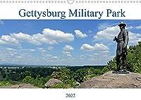 Gettysburg Military Park (Wandkalender 2022 DIN A3 quer): 12 ausgewaehlte Bilder vom Gettyburg Military Park fuer Interessierte am Amerikanischen Buergerkrieg (Monatskalender, 14 Seiten )