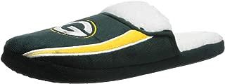 NFL Mens Team Logo Sherpa Slippers