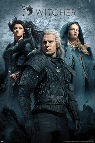 Maxi poster The Witcher TV Key Art