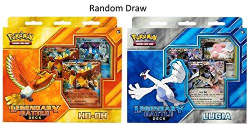 Pokemon USA, Inc. POK81301 Legendary Battle Deck (Ho-Oh und Lugia): Pokemon TCG, Mehrfarbig