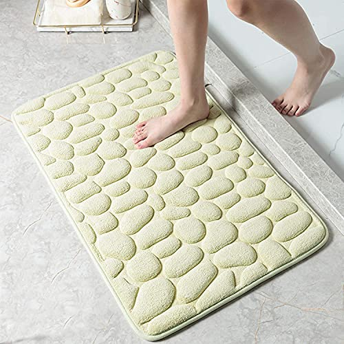 Decorus Memoryschaum Badmatte rutschfeste Badezimmerteppich Superabsorbierende Badteppiche Maschinenwaschbare Kuschelige Badvorleger