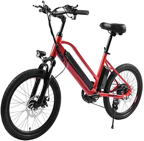 Bicicletas Eléctricas, Adulto bicicleta eléctrica 36v 250w Suspensión completa eléctrica bicicleta de carretera bicicleta de montaña for hombre de aleación de magnesio Ebikes Bicicletas Todo Terreno e