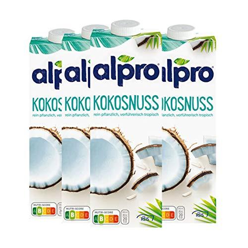 Alpro - Kokosnuss Original - 1l, 4er Pack
