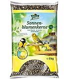 dehner natura - mangime per uccelli selvatici, semi di girasole, 5 kg
