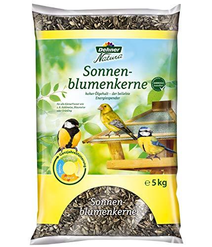 Dehner Natura Wildvogelfutter, Sonnenblumenkerne, 5 kg