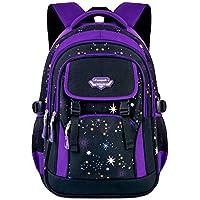 Fanspack Girl's School Backpack (Purple)