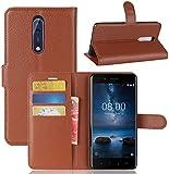 CoverKingz Handytasche für Nokia 8 Handyhülle, Flip Case