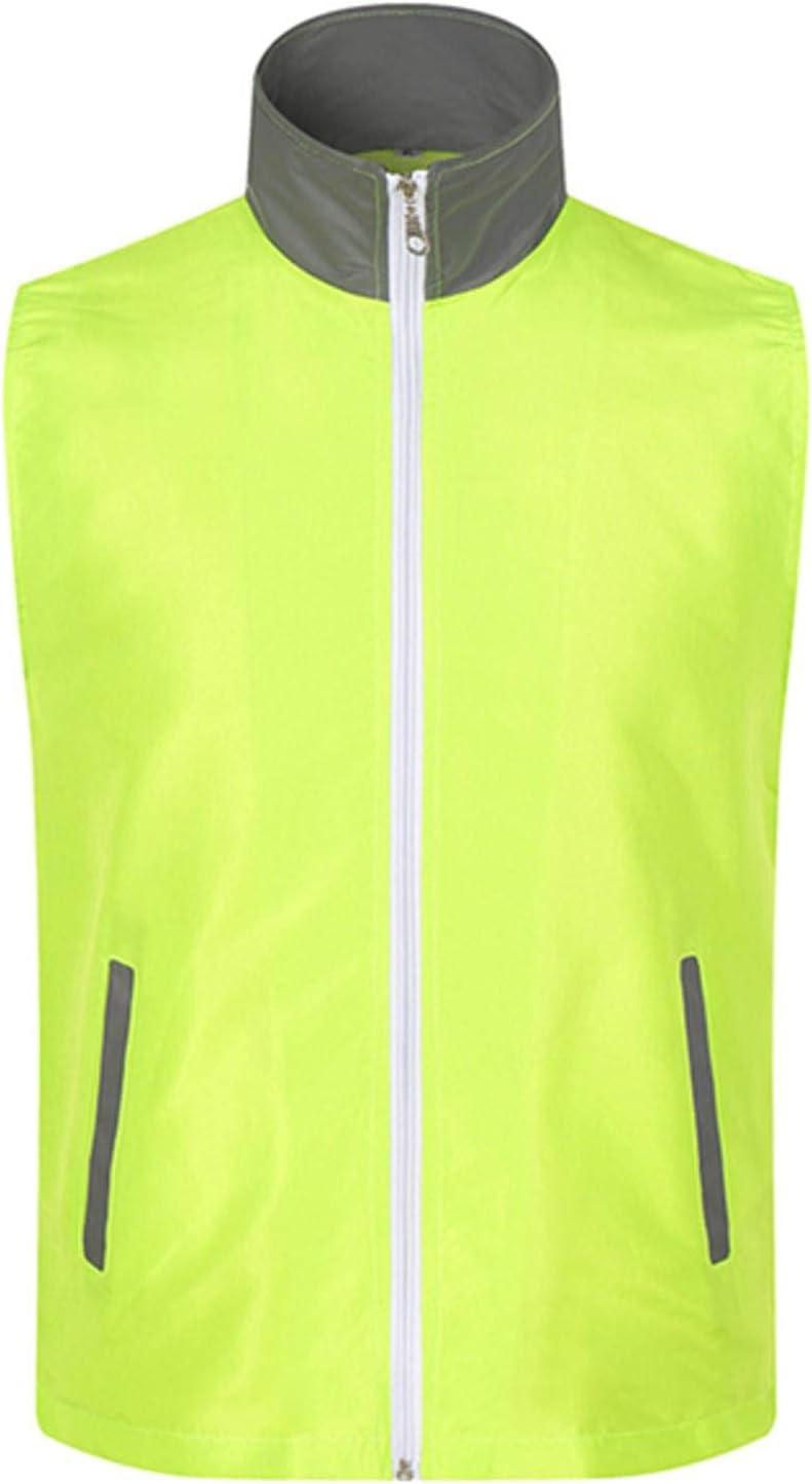 NC Volunteer Vest Color Reflective Vest Zipper Men's Jacket Group Suit VM1025