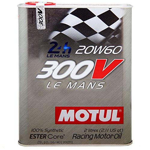 MOTUL (モチュール) 300V LE MANS (ルマン) 20W60 100%化学合成 (エステルコア) エンジンオイル 2L (並行輸入品) 103141